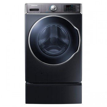 SAMSUNG WF9100 5.6 cu. ft. Front Load Washer with SuperSpeed (Onyx)