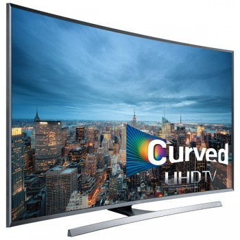 SAMSUNG 4K UHD JU7500 Series Curved Smart TV - 40