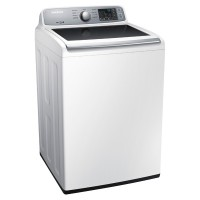 SAMSUNG WA7000 4.5 cu. ft. Top Load Washer with VRT (White)
