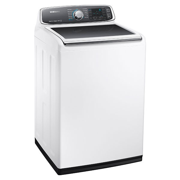 SAMSUNG WA8060 5.2 cu. ft. Top Load Washer with Super Speed (White)