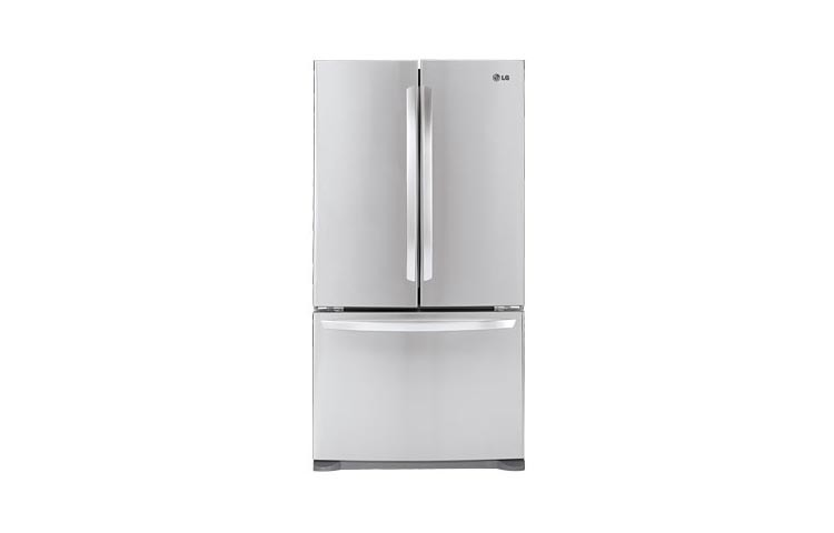 Attirant LG Large Capacity Counter Depth 3 Door French Door Refrigerator