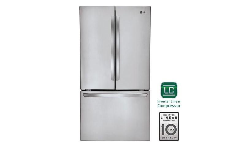 Charmant LG 31 Cu.ft. Super Capacity 3 Door French Door Refrigerator