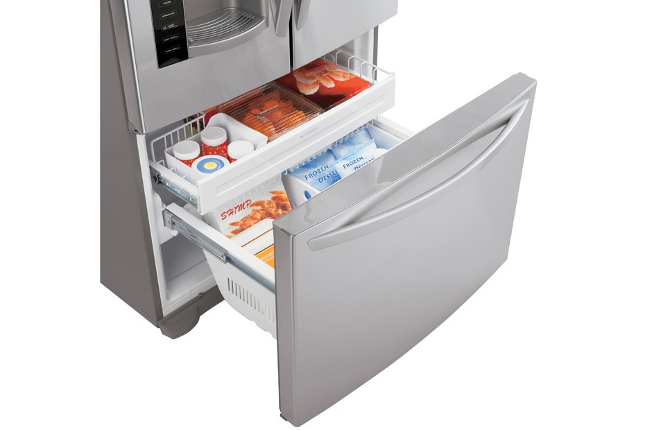 LG Large Capacity Counter Depth 3 Door French Door Refrigerator. Click To  Expand. LG · LG