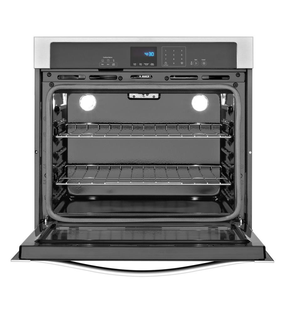 WHIRLPOOL 5.0 cu. ft. Single Wall Oven with extra-large window ...