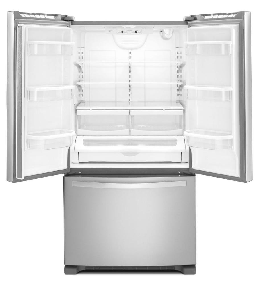 Whirlpool 33 Inch Wide French Door Refrigerator With Accu