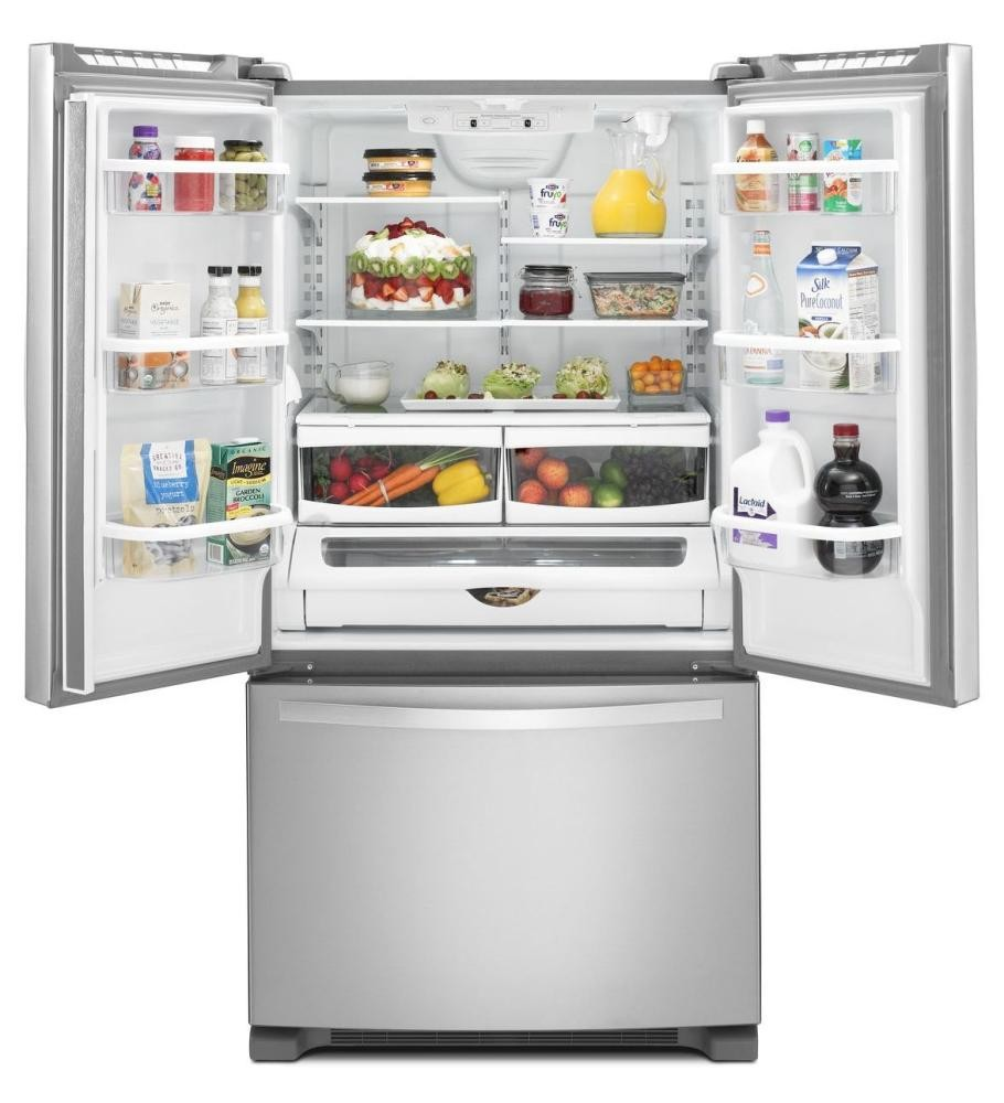 Charming WHIRLPOOL 33 Inch Wide French Door Refrigerator With Accu Chill System   22  Cu. Click To Expand. WHIRLPOOL. WHIRLPOOL. WHIRLPOOL