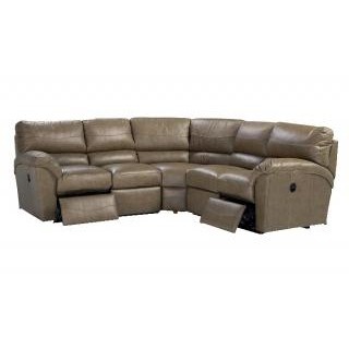 Reese Reclining Leather Sectional
