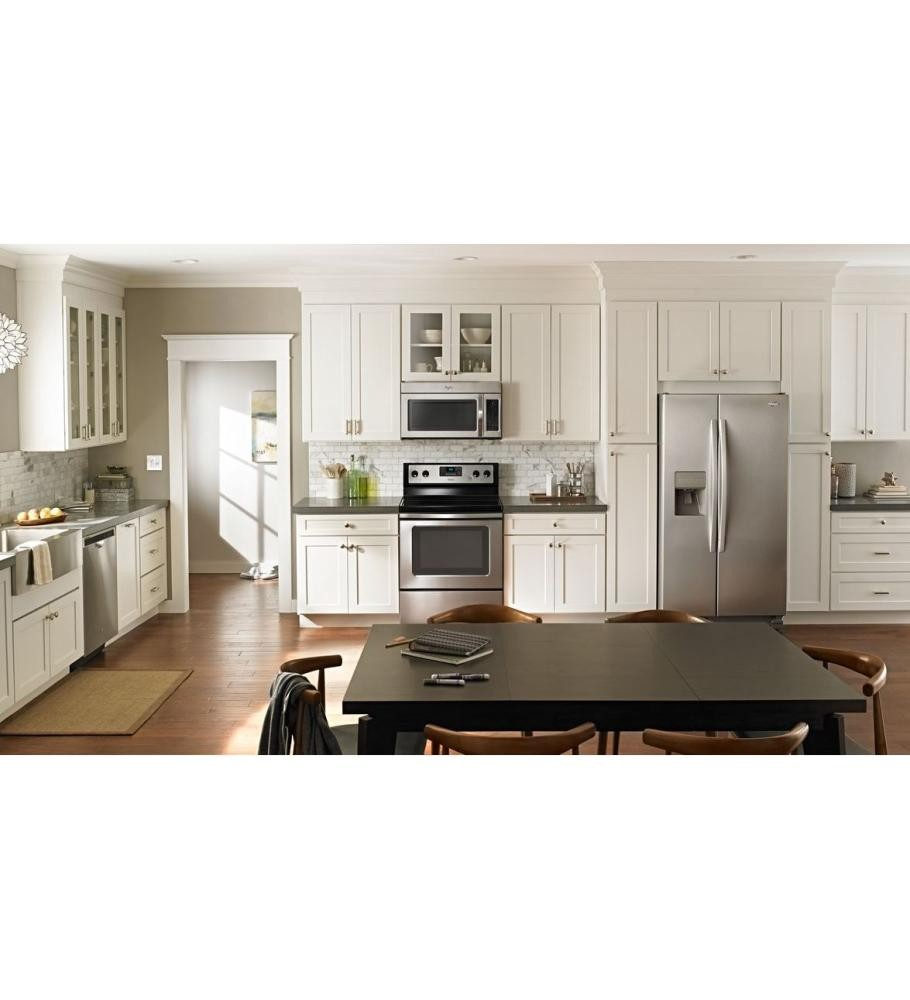WHIRLPOOL 36-inch Wide Large Side-by-Side Refrigerator with Greater ...