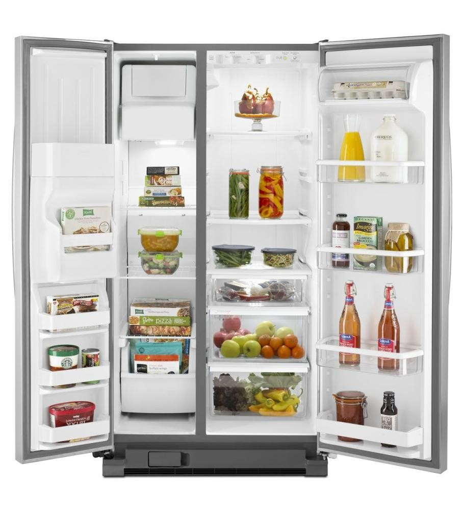 whirlpool refrigerator with water dispenser