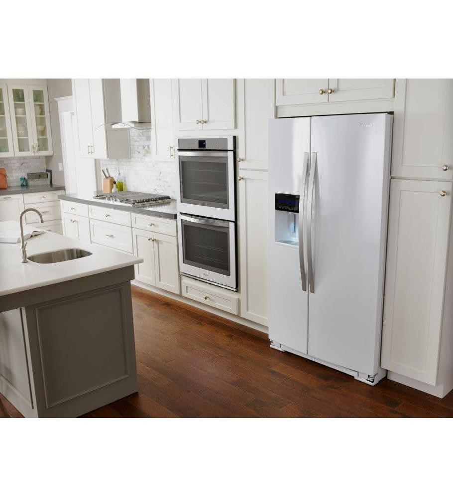 WHIRLPOOL 30 inch Convertible Glass Kitchen Ventilation Hood with ...