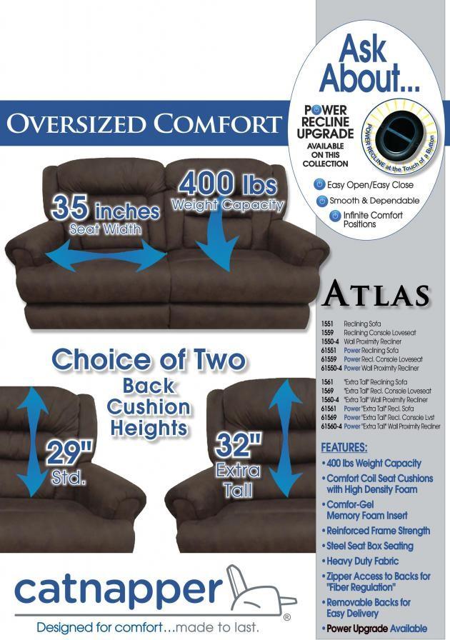 power extra tall reclining sofa 61561 reclining power sofa rh guynnfurniture net