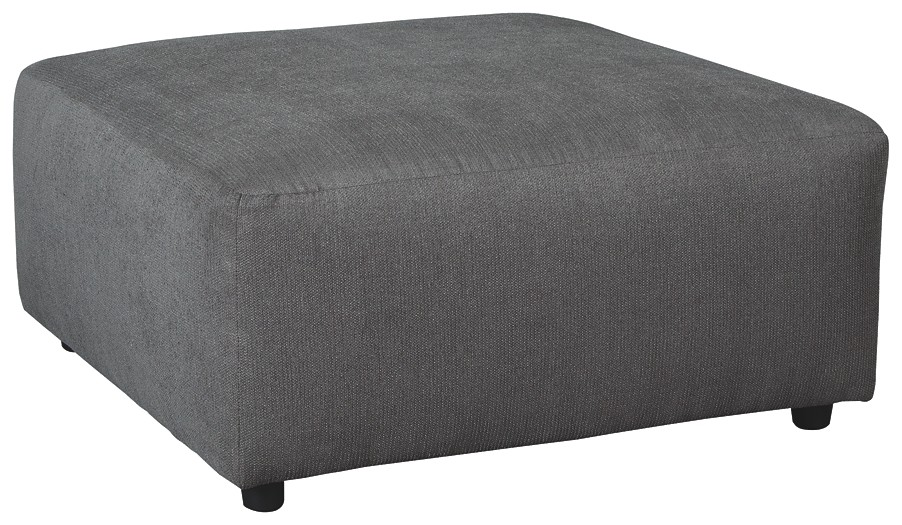 Jayceon - Steel - Oversized Accent Ottoman