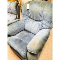 La-Z-Boy Blue Rocker Recliner