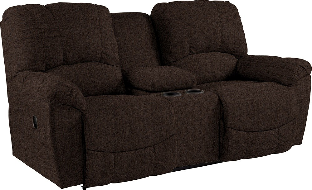 Cool Hayes La Z Time R Full Reclining Loveseat W Console Gamerscity Chair Design For Home Gamerscityorg
