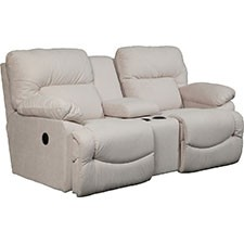 Superb Asher La Z Time R Full Reclining Loveseat W Console Caraccident5 Cool Chair Designs And Ideas Caraccident5Info