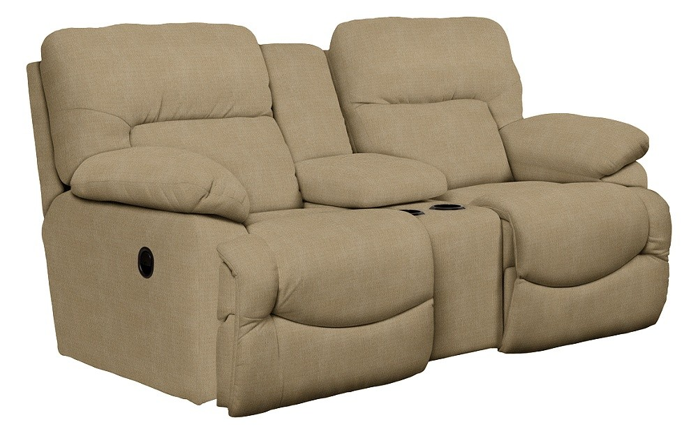 Asher La Z Time R Full Reclining Loveseat W Console