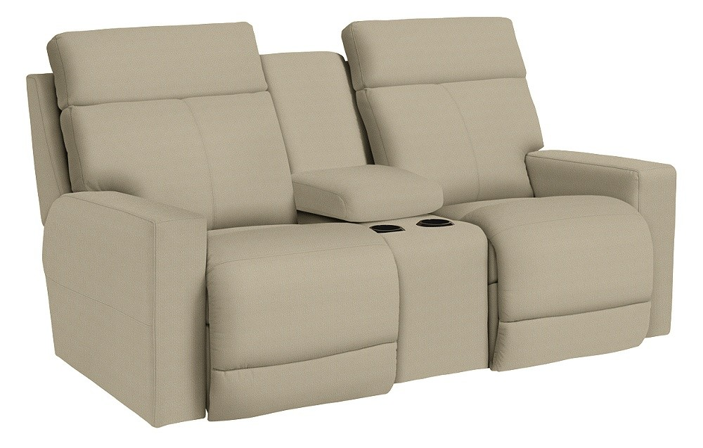 Jax PowerRecline La-Z-Time(R) Full Reclining Loveseat w/ Console