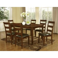 Dining Wood Table and 6 Chairs