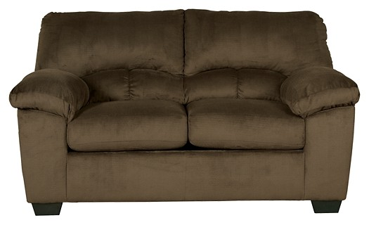 Dailey - Chocolate - Loveseat