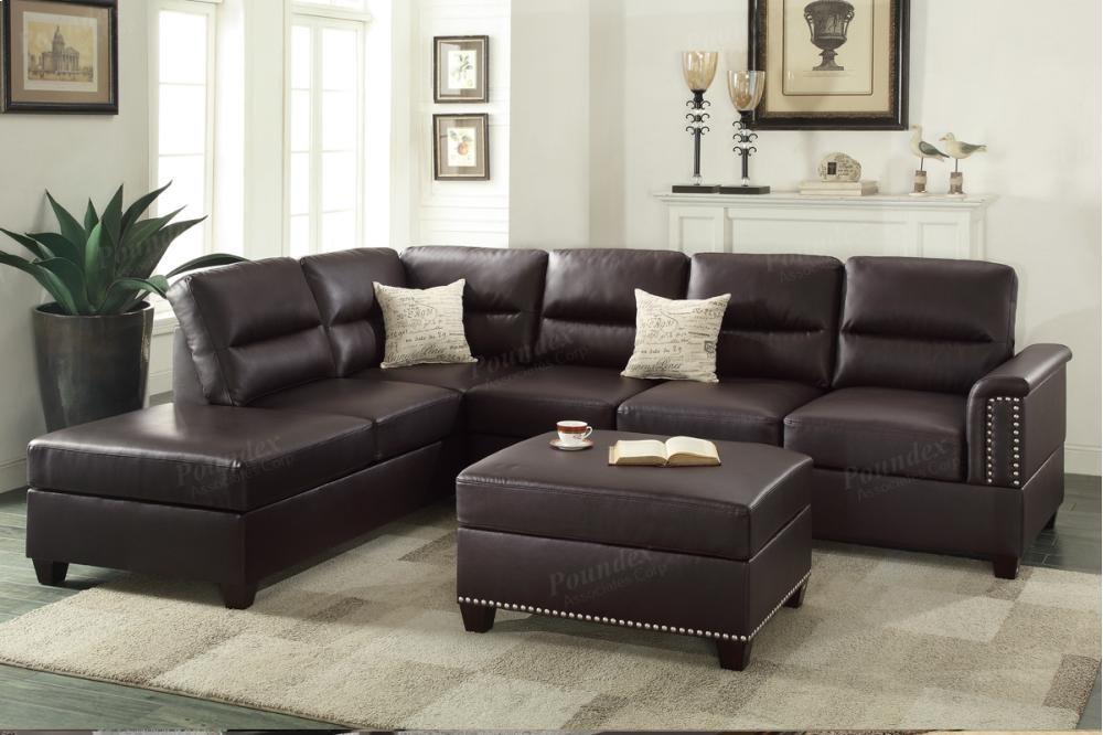 3-pcs Sectional | F7609 | Sectionals | Furniture World (Las Vegas)