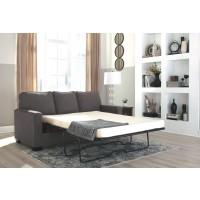 Zeb - Charcoal - Full Sofa Sleeper