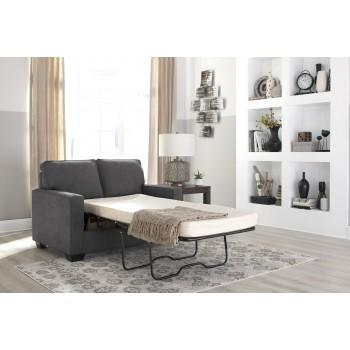 Zeb - Charcoal - Twin Sofa Sleeper