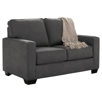 Zeb - Charcoal - Twin Sofa Sleeper