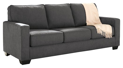 Zeb - Charcoal - Queen Sofa Sleeper