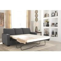 Zeb - Charcoal - Queen Sofa Sleeper