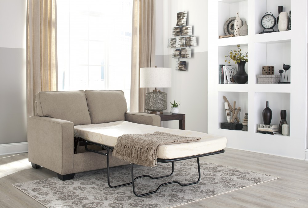 Zeb - Quartz - Twin Sofa Sleeper