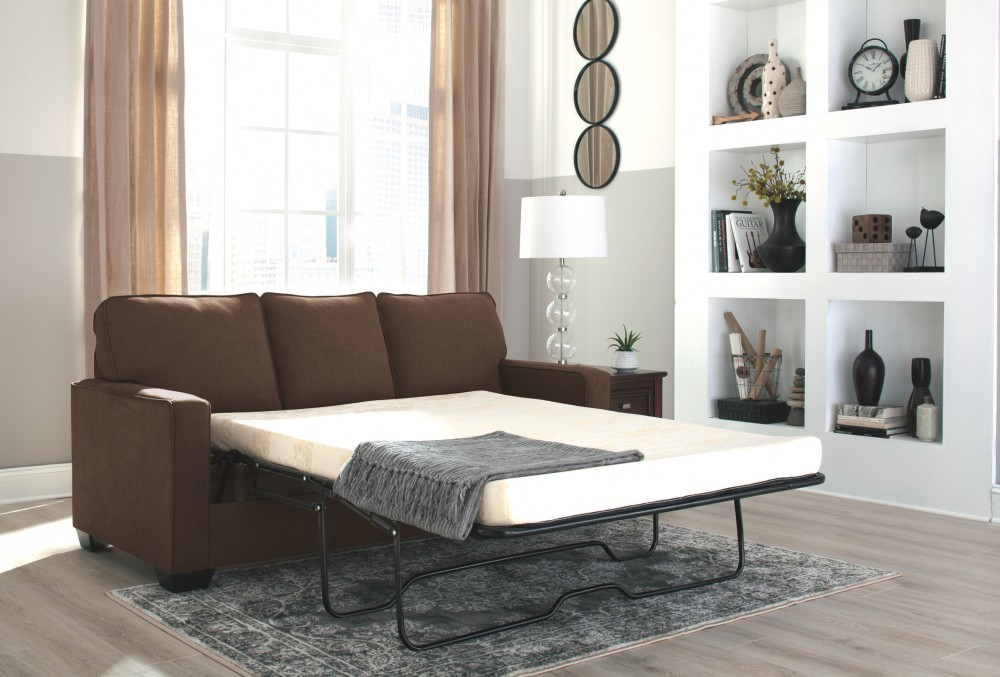 Admirable Zeb Espresso Full Sofa Sleeper Caraccident5 Cool Chair Designs And Ideas Caraccident5Info