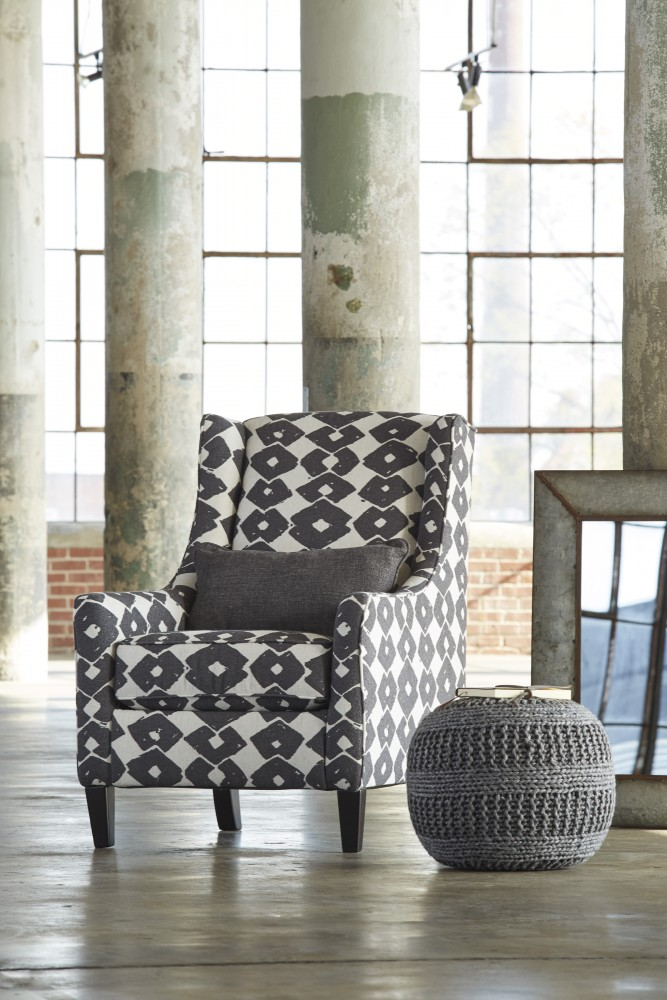 Brace - Granite - Accent Chair