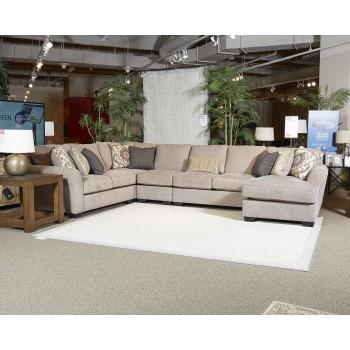 Pantomine - Driftwood - Armless Sofa