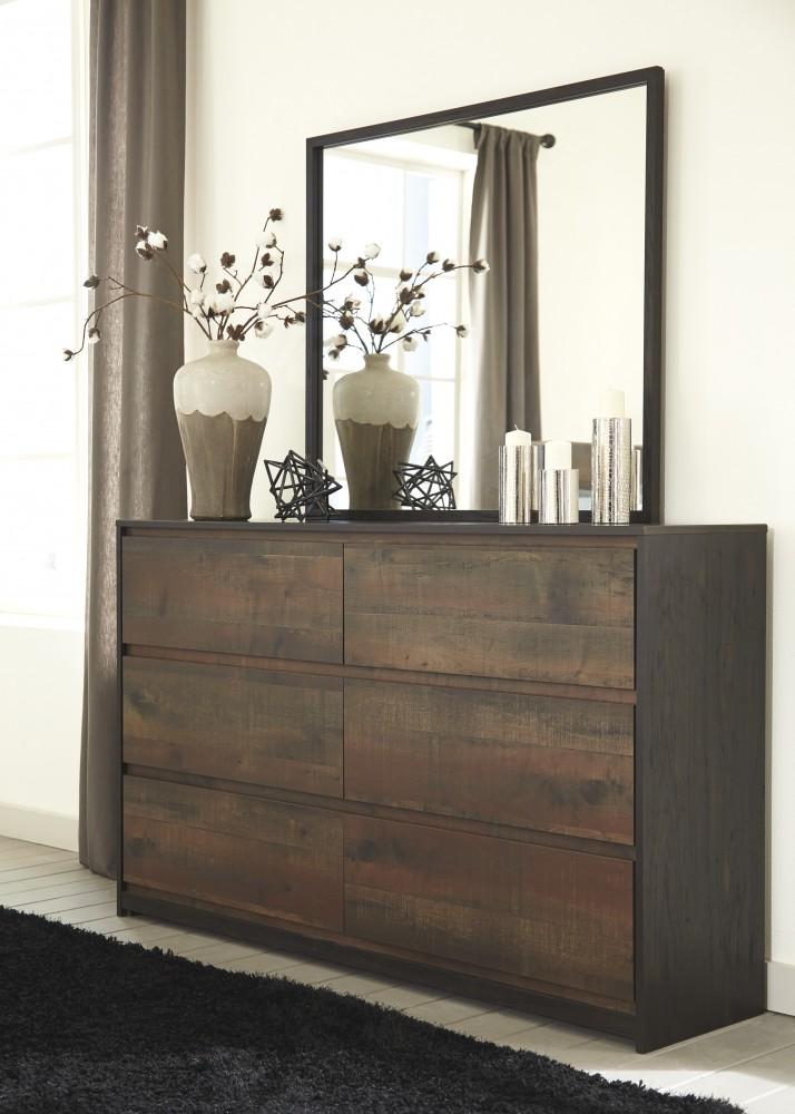 Windlore - Dark Brown - Bedroom Mirror
