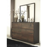 Windlore - Dark Brown - Bedroom Mirror