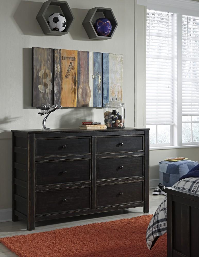 Jaysom - Black - Dresser
