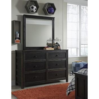 Jaysom - Black - Bedroom Mirror
