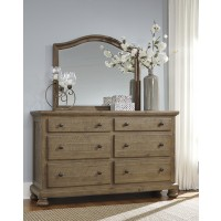 Trishley - Light Brown - Bedroom Mirror
