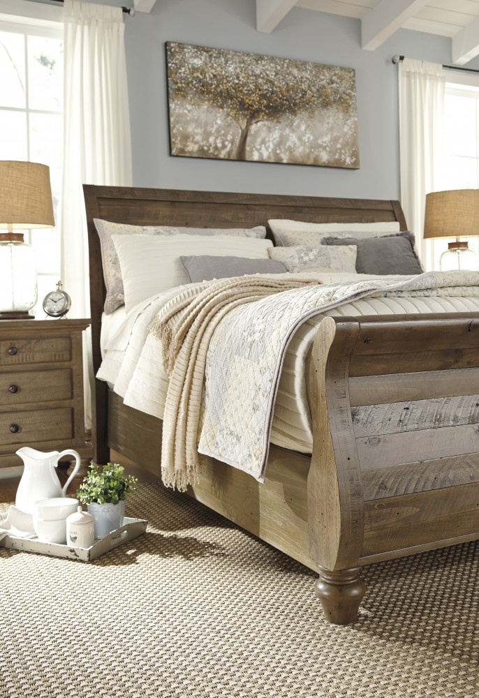 buy sleigh headboard size king california