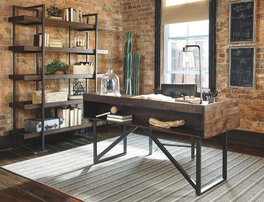 Brilliant Starmore Brown Home Office Desk Beutiful Home Inspiration Truamahrainfo