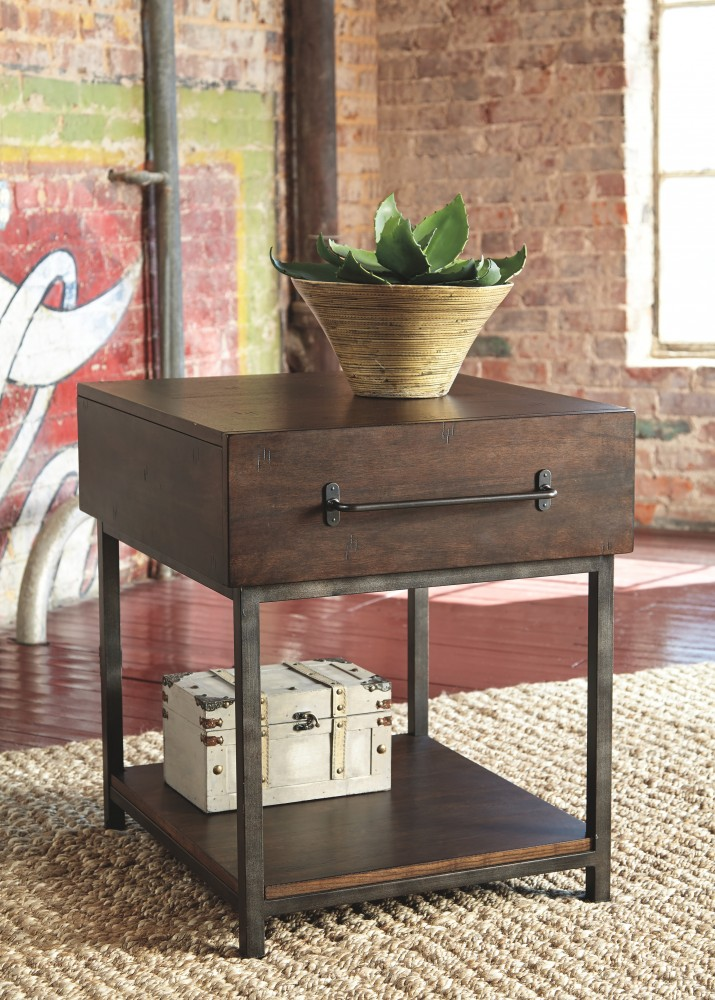 Starmore Brown Rectangular End Table T913 3 End