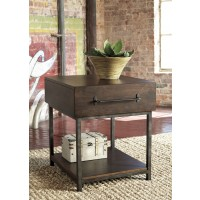 Starmore - Brown - Rectangular End Table