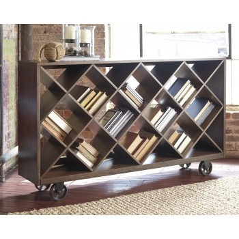 Starmore - Brown - Shelf/Console Table
