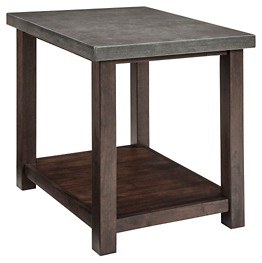 Starmore Brown Chair Side End Table T913 7 Chair Side Tables