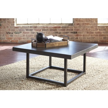 Starmore - Brown - Square Cocktail Table