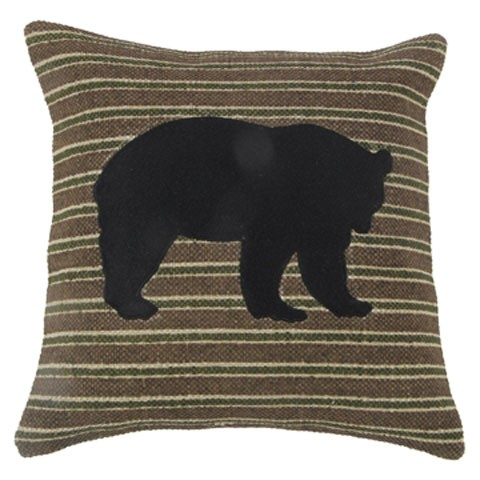 Darrell - Brown/Black/Green - Pillow