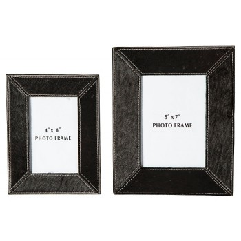 Odeda - Black - Photo Frame (Set of 2)