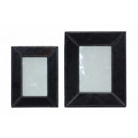 Odeda - Black - Photo Frame (Set of 2)