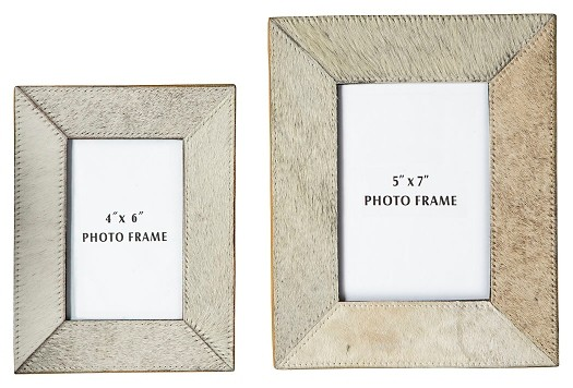 Odeda - Beige - Photo Frame (Set of 2)