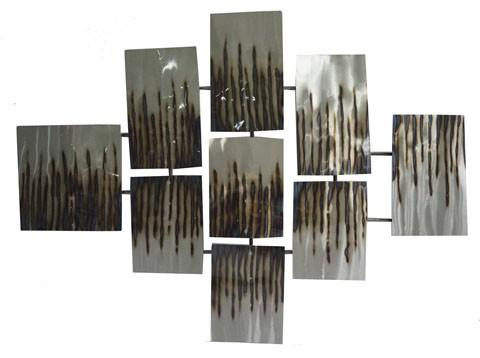 Oeneus - Silver/Brown/Gold Finish - Wall Decor
